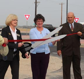 Eagle Amity Ribbon Cutting